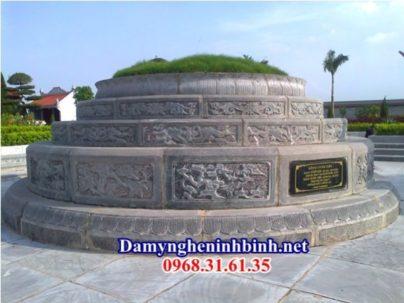 Kích thước mộ tròn đá