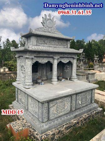 Mẫu mộ đôi đá 15