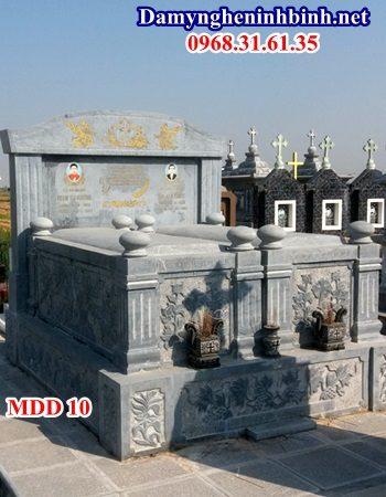 Mẫu mộ đôi đá ninh bình 10