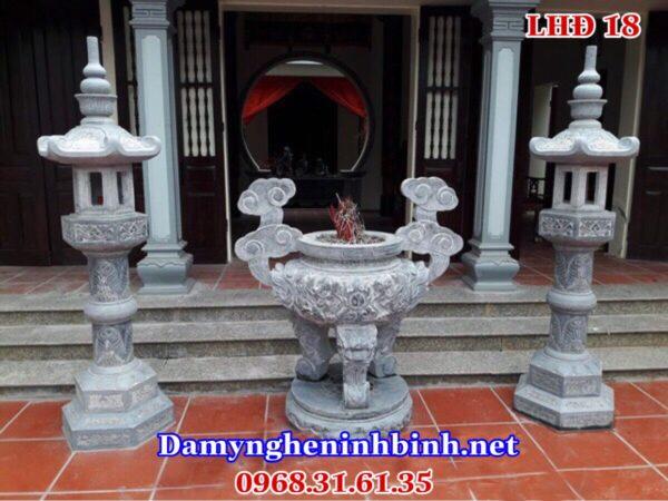 Mẫu lư hương đền chùa 18