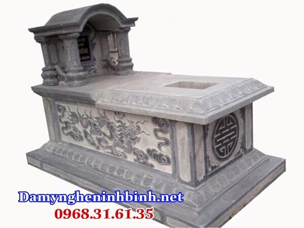 Mẫu mộ một mái đẹp nhất 09